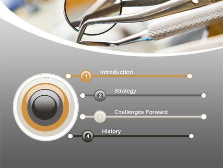 Dental Instruments PowerPoint Template, Slide 3, 09485, Medical — PoweredTemplate.com