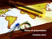 Global: Templat PowerPoint Spyglass #09488