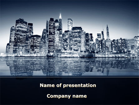 Chicago Shore PowerPoint Template