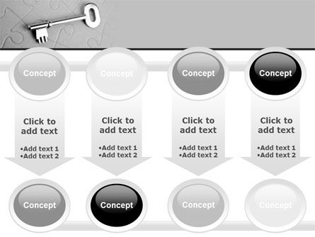 Key To Puzzle PowerPoint Template Slide 18