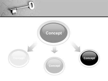 Key To Puzzle PowerPoint Template Slide 4