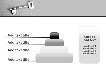 Key To Puzzle PowerPoint Template Slide 8