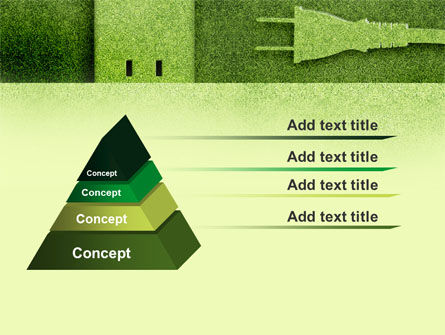 Energy of Greenery PowerPoint Template, Slide 4, 09499, Nature & Environment — PoweredTemplate.com