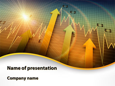 Visual Report PowerPoint Template, 09501, Business — PoweredTemplate.com