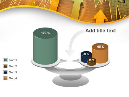 Visual Report PowerPoint Template Slide 10