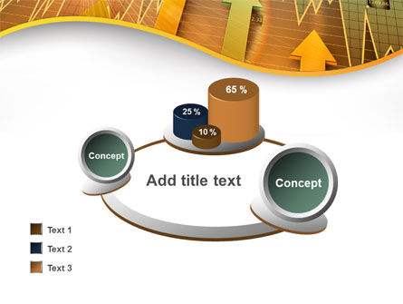 Visual Report PowerPoint Template Slide 16