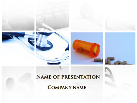 Medical: Dietary Supplements PowerPoint Template #09502