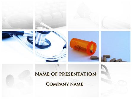 Dietary Supplements PowerPoint Template, 09502, Medical — PoweredTemplate.com