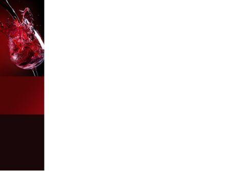 Fantastic Red Wine PowerPoint Template, Slide 3, 09503, Food & Beverage — PoweredTemplate.com
