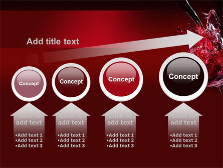 Fantastic Red Wine PowerPoint Template Slide 13