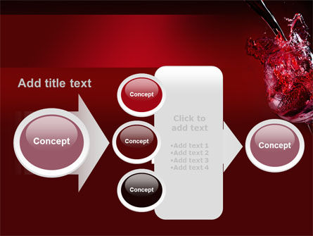 Fantastic Red Wine PowerPoint Template Slide 17
