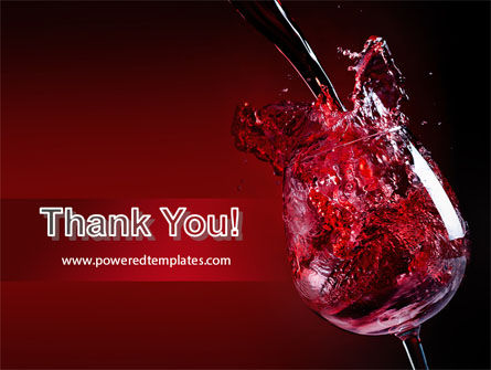 Fantastic Red Wine PowerPoint Template Slide 20