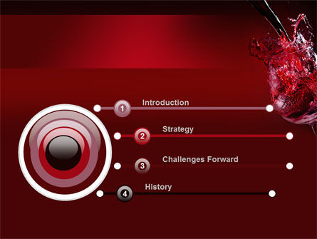 Fantastic Red Wine PowerPoint Template Slide 3