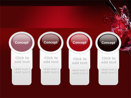 Fantastic Red Wine PowerPoint Template Slide 5