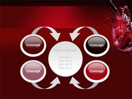 Fantastic Red Wine PowerPoint Template Slide 6