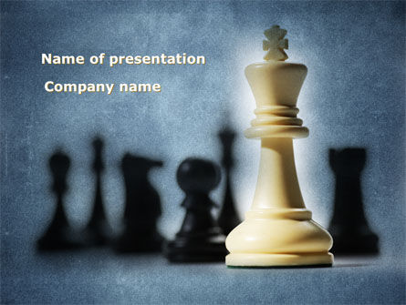Strategic Victory PowerPoint Template, 09504, Sports — PoweredTemplate.com