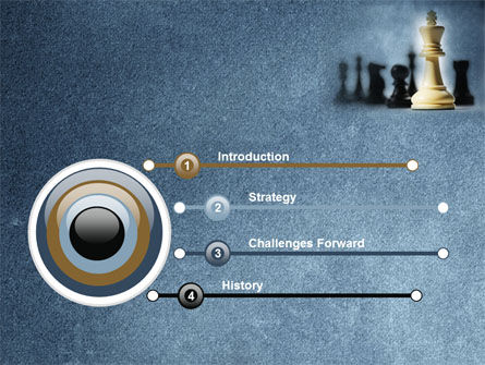 Strategic Victory PowerPoint Template, Slide 3, 09504, Sports — PoweredTemplate.com