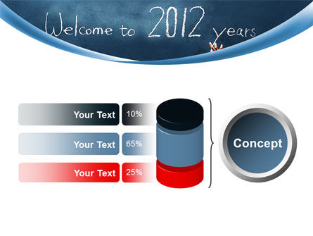 Welcome To 2012 PowerPoint Template Slide 11
