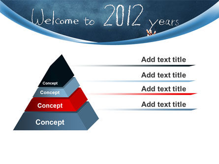 Welcome To 2012 PowerPoint Template Slide 12