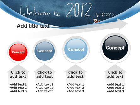 Welcome To 2012 PowerPoint Template Slide 13