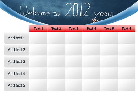 Welcome To 2012 PowerPoint Template Slide 15