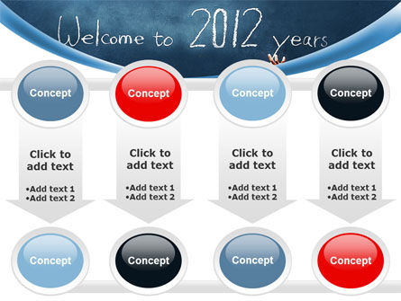Welcome To 2012 PowerPoint Template Slide 18
