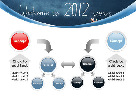 Welcome To 2012 PowerPoint Template Slide 19