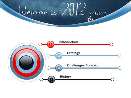 Welcome To 2012 PowerPoint Template, Slide 3, 09508, Education & Training — PoweredTemplate.com
