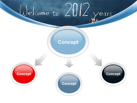 Welcome To 2012 PowerPoint Template, Slide 4, 09508, Education & Training — PoweredTemplate.com
