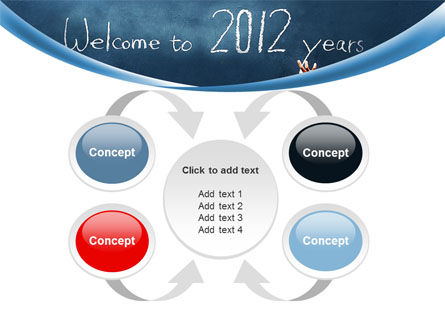 Welcome To 2012 PowerPoint Template Slide 6
