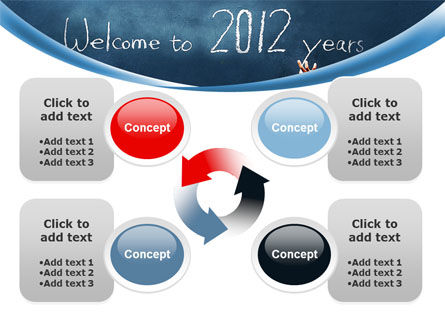 Welcome To 2012 PowerPoint Template Slide 9