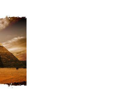 Pyramid of Khafre PowerPoint Template, Slide 3, 09511, Flags/International — PoweredTemplate.com