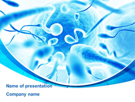 Ejaculation PowerPoint Template, 09512, Medical — PoweredTemplate.com