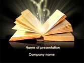 Education & Training: Scripture PowerPoint Template #09513