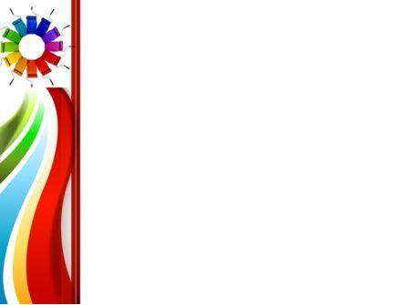 Rainbow Color Palette PowerPoint Template, Slide 3, 09514, Construction — PoweredTemplate.com