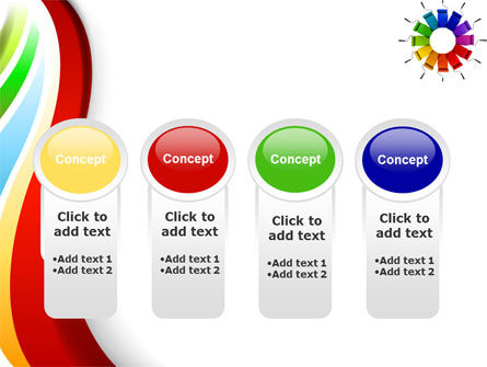 Rainbow Color Palette PowerPoint Template Slide 5