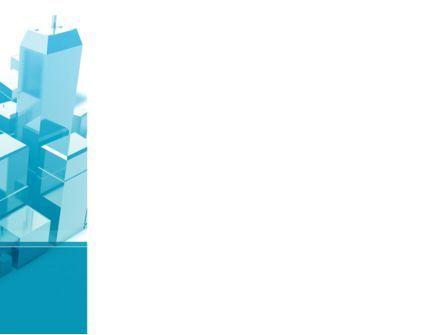 Urban Blocks PowerPoint Template, Slide 3, 09515, Construction — PoweredTemplate.com
