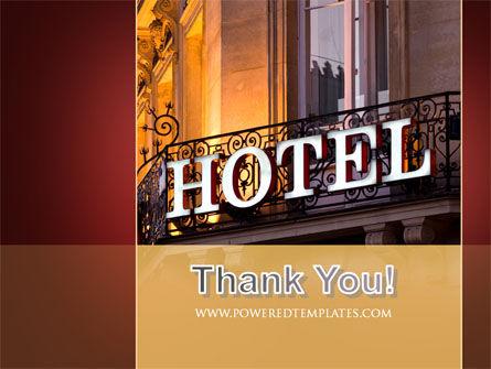 Hotel Signboard PowerPoint Template Slide 20