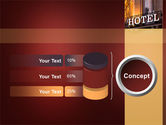 Hotel Signboard PowerPoint Template#11