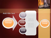 Hotel Signboard PowerPoint Template#17