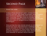 Hotel Signboard PowerPoint Template#2