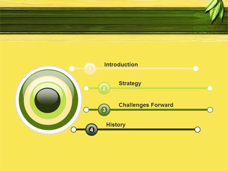 Spring Forest PowerPoint Template, Slide 3, 09517, Nature & Environment — PoweredTemplate.com