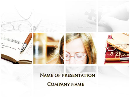 Vision Problems Of Pupils PowerPoint Template