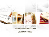 Education & Training: Vision Problems Of Pupils PowerPoint Template #09519