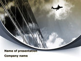 Cars and Transportation: Area Of Departure PowerPoint Template #09523