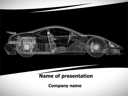 Cars and Transportation: Car Design Process PowerPoint Template #09524