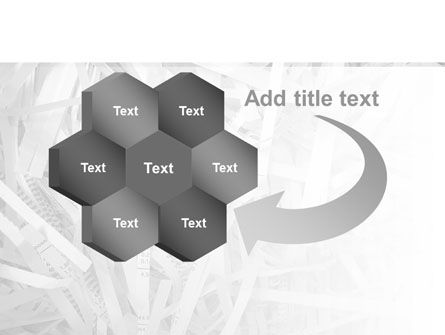 Sliced Paper PowerPoint Template Slide 11