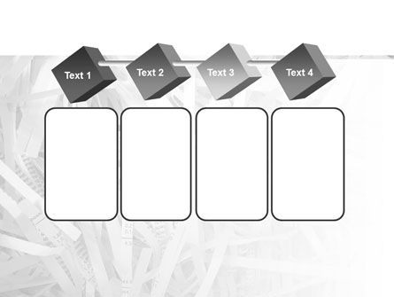 Sliced Paper PowerPoint Template Slide 18