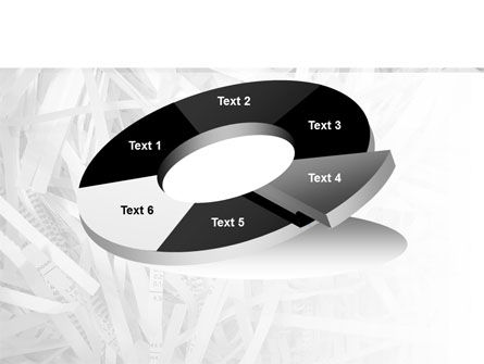 Sliced Paper PowerPoint Template Slide 19