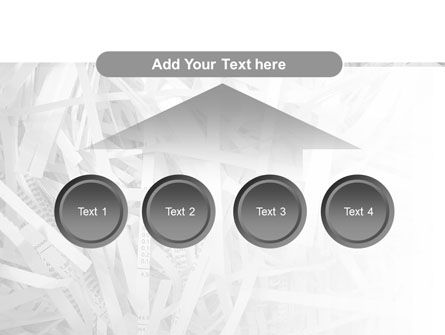 Sliced Paper PowerPoint Template Slide 8